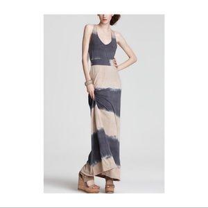 • Splendid • tie-dye maxi dress